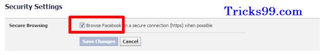 Facebook- Security Settings-enable-Secure-Browsing-facebook-account