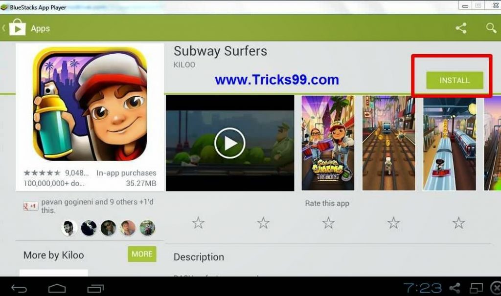 i want to install subway surfers