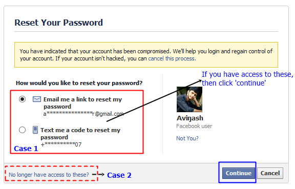 How to open gmail if i forgot password