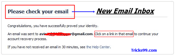 How to Recover a Hacked Facebook Account - email-confirmation