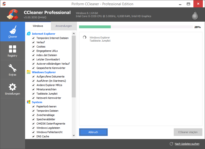 CCleaner-NOW MAKE YOUR COMPUTER/LAPTOP FASTER WITH THESE TRICKS!