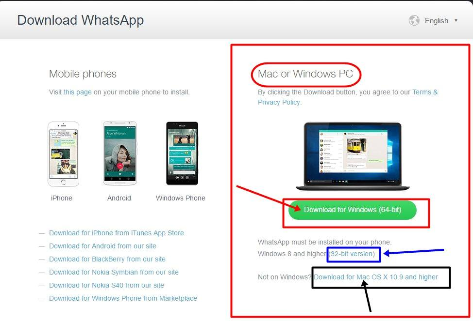 Steps to use Whatsapp on our Pc-Laptop-Tablet