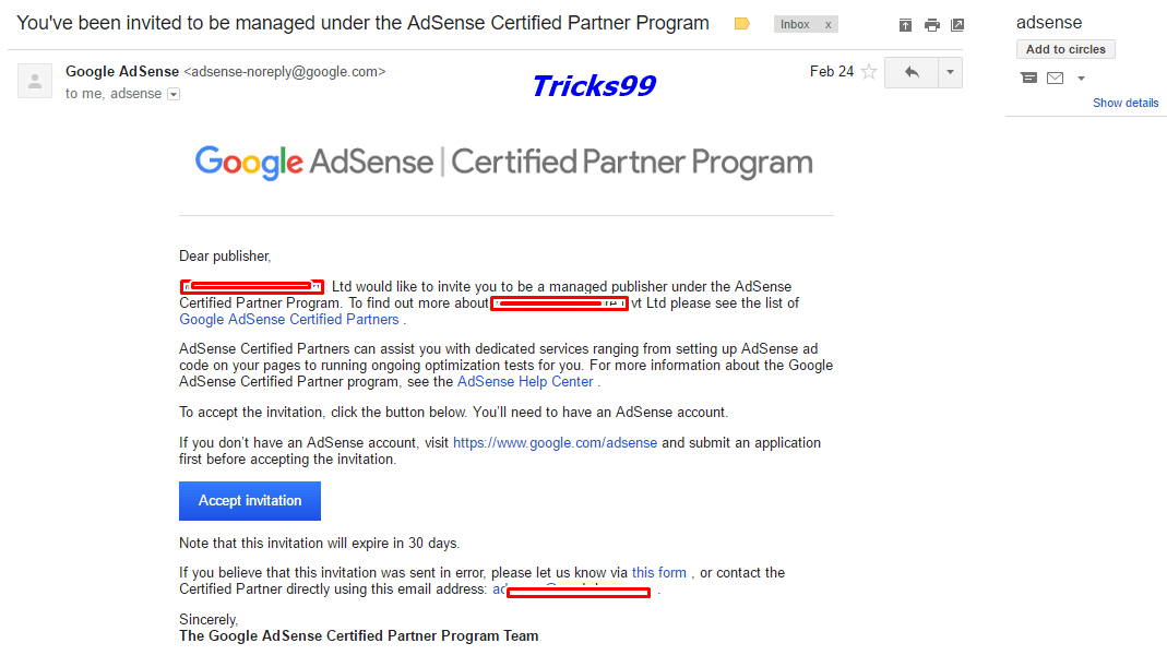 Google_adsense_certifed_partners_invitation
