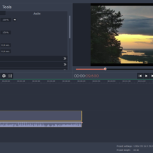split screen video in Movavi Video Editor