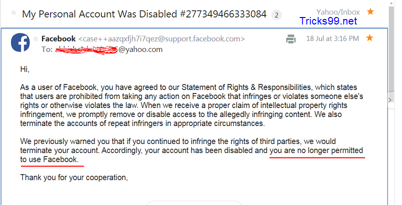 How to Enable/Recover a Disabled Facebook Account [Within 24