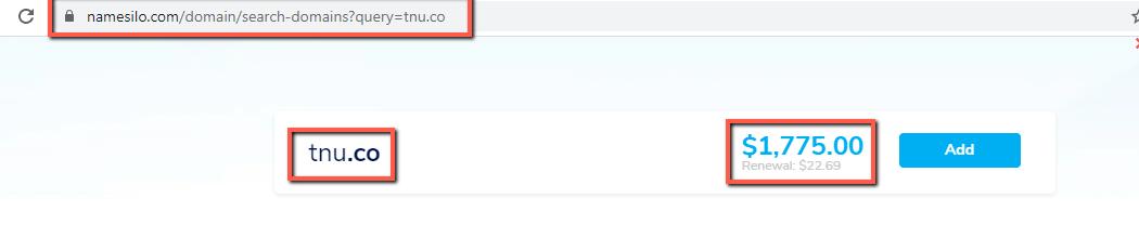 Namesilo-example-domain